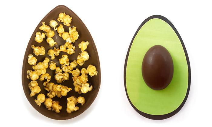 Velikonoční vajíčka z čokolády od Melt