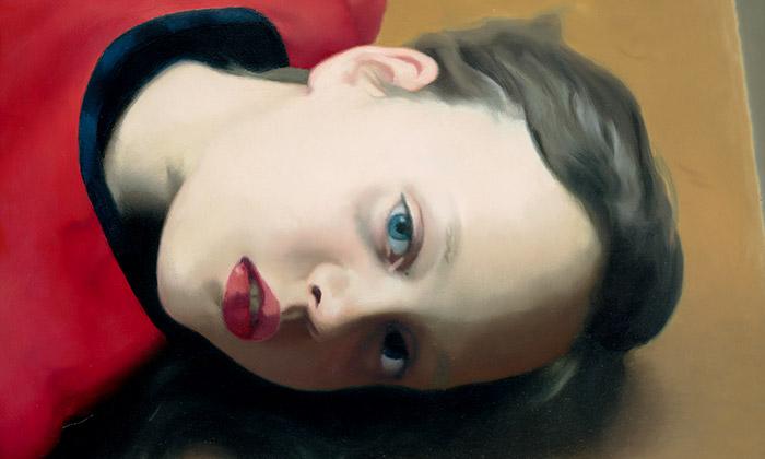 Ukázka z velké retrospektivní výstavy Gerhard Richter v Národní galerii v Praze
