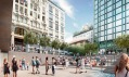 Apple Piazza Liberty v Miláně od Foster + Partners