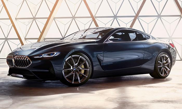 BMW představilo koncept sportovního Coupé řady 8