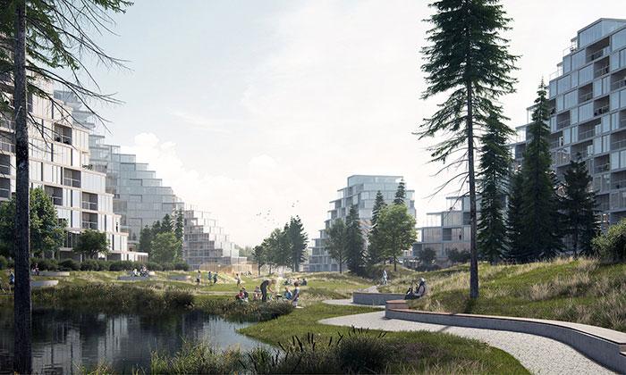 EFFEKT navrhli pro Bratislavu rezidence stvarem hor