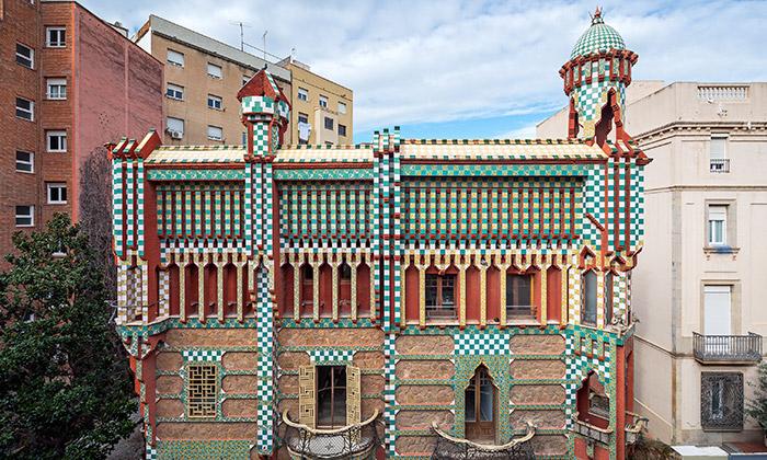 Gaudího první dům Casa Vicens seotevře veřejnosti
