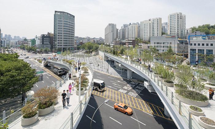 Soul přestavěl nepoužívaný viadukt naveřejný park