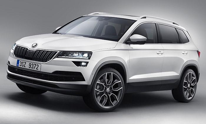 Škoda oficiálně představila nové SUV jménem Karoq