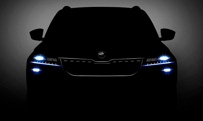 Škoda odhaluje nové kompaktní SUV jménem Karoq
