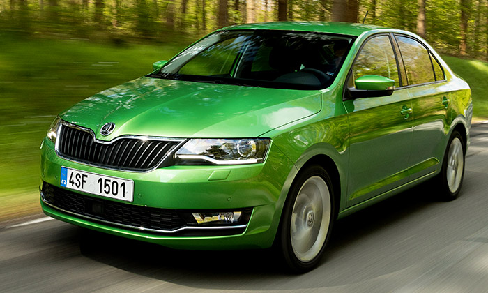 Škoda zdařile zmodernizovala design vozu Rapid