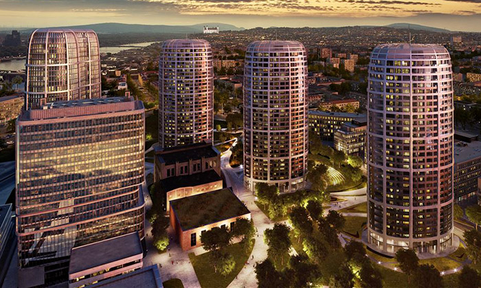 V Bratislavě začínají stavět Sky Park odZahy Hadid