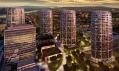 Multifunkční projekt Sky Park vBratislavě odZaha Hadid Architects