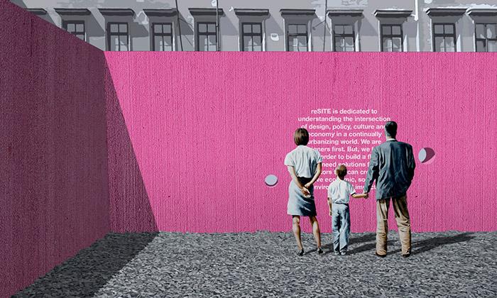 Vítězný návrh architektonicko-urbanistické soutěži Superstudio 2017: Barbora Juríčková a Oliver Kažimír