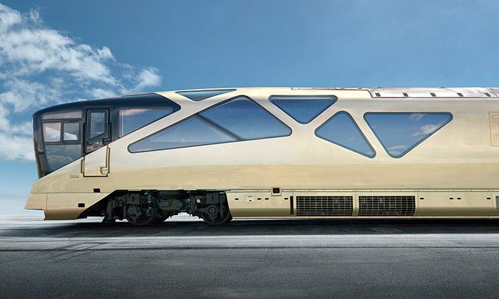 Japonsko chystá luxusní vlak pro veřejnou dopravu
