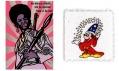 Plakát Black Panther a LSD blotting paper