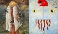Ukázka děl z výstavy Mad About Surrealism