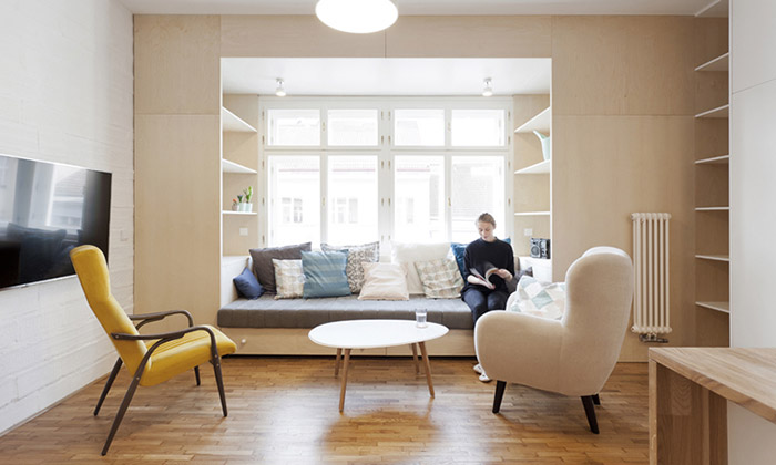Byt pro Přemka v pražských Vršovicích od Atelier 111