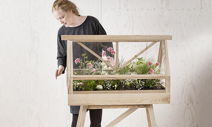 Atelier 2+ navrhl domácí skleník nakvětiny čibylinky