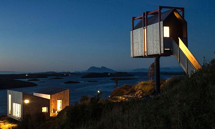 Norské ostrovy nabízí ubytování vmalých domcích