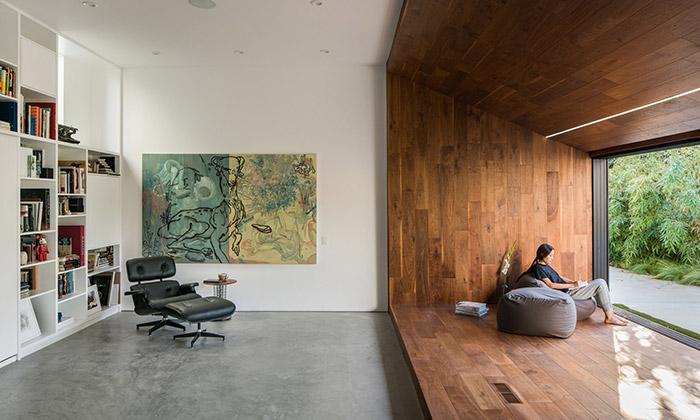 Dan Brunn přestavěl vilu navrženou Frankem Gehrym