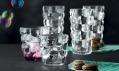 Jakub Pollág a kolekce sklenic Bubbles pro sklárnu Nachtmann