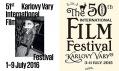 Plakáty pro 51. a 50. Mezinárodní filmový festival Karlovy Vary od studia Najbrt