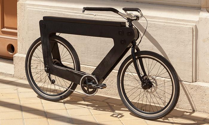 REVO jeměstské kolo ze dřeva sesedadlem pro dva
