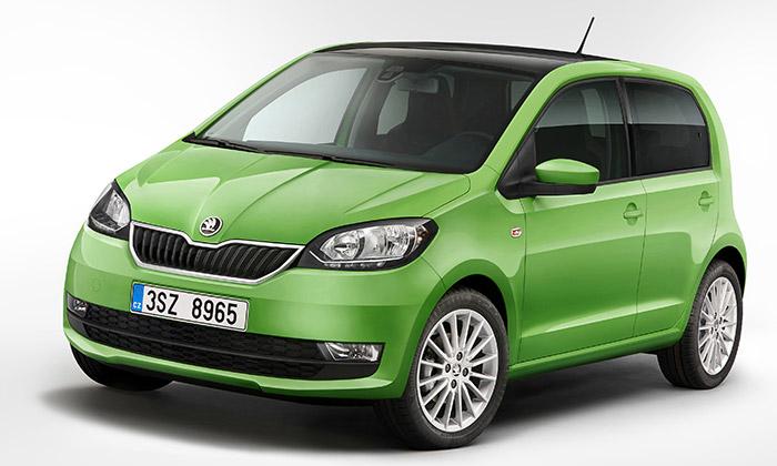 Škoda zmodernizovala design městského vozu Citigo