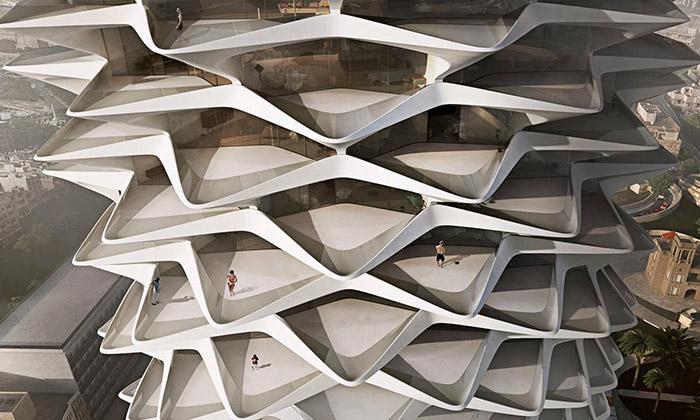 Londýn vystavuje nerealizované stavby Zahy Hadid