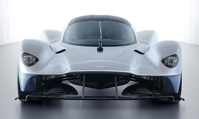 Finální podoba supersportu Aston Martin Valkyrie