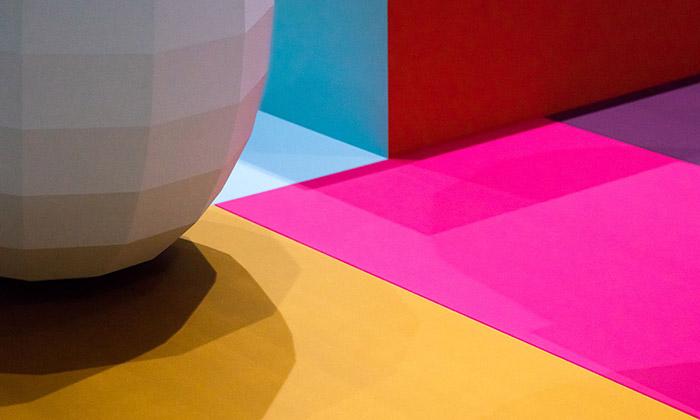 Ukázka z výstavy Breathing Colour by Hella Jongerius
