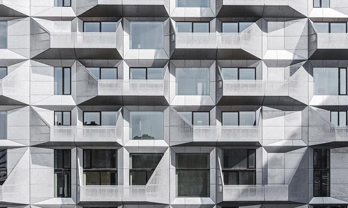 Staré kodaňské silo přestavěno nastylové apartmány