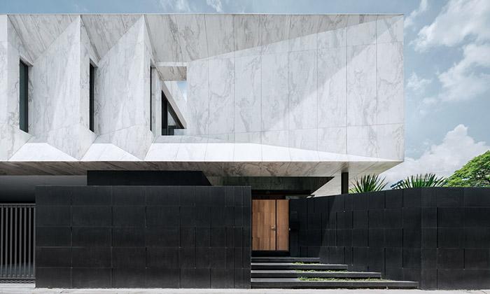 Marble House jecelý postaven zbílého mramoru