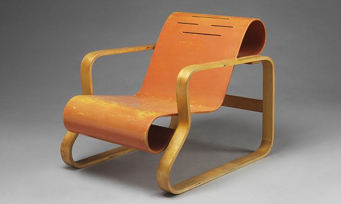 Ukázka z výstavy Plywood: Material of the Modern World