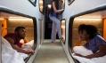 Speciálně upravený autobus Ride Cabin