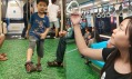 Podlahy v metru v Tchaj-peji jako předzvěst letní Univerziády 2017