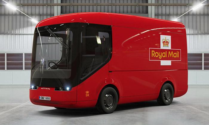 Royal Mail využívá poštovní vozy Arrival naelektriku
