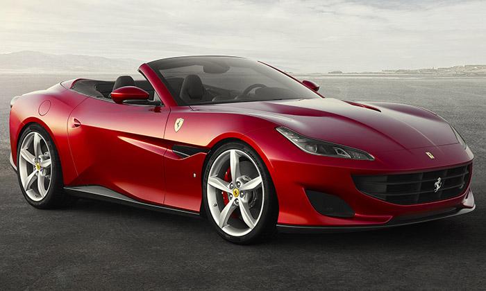 Ferrari představilo nový elegantní roadster Portofino