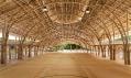 Bamboo Sports Hall Panyaden International School vThajsku odChiangmai Life Architects & Construction