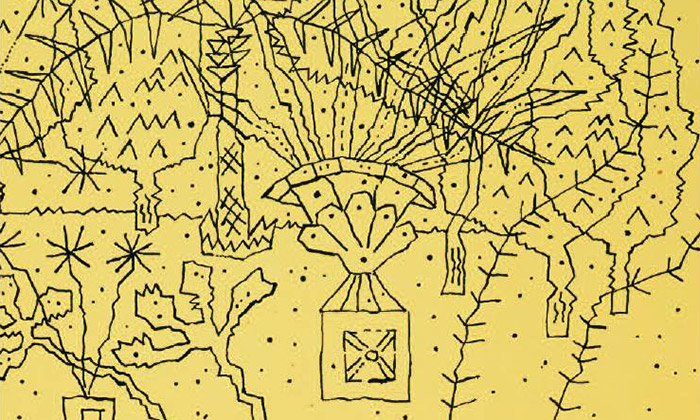 Ukázka z výstavy Svítání Zdeňka Sklenáře