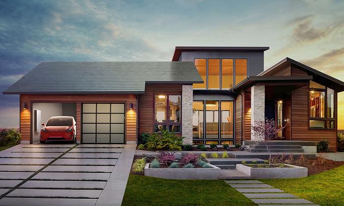 Solární střecha Tesla Solar Roof