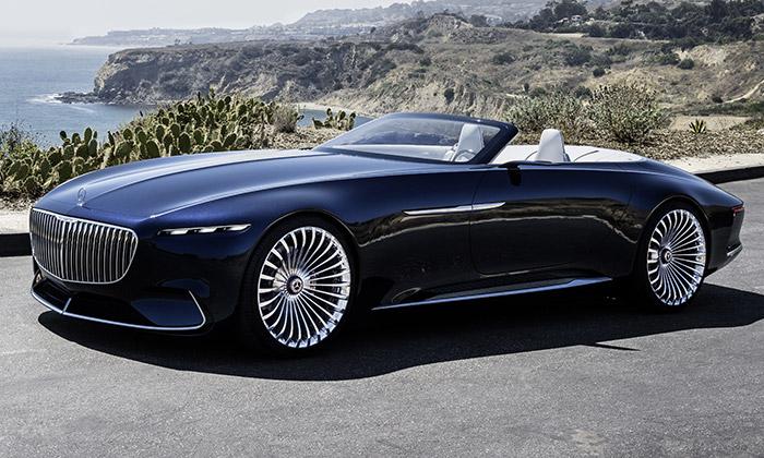 Představen luxusní Mercedes-Maybach 6 Cabriolet
