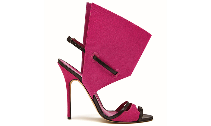 Ukázka z výstavy Manolo Blahnik: The Art of Shoes