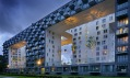 Ukázka z výstavy Nájemní bydlení v Galerii Architektury Brno
