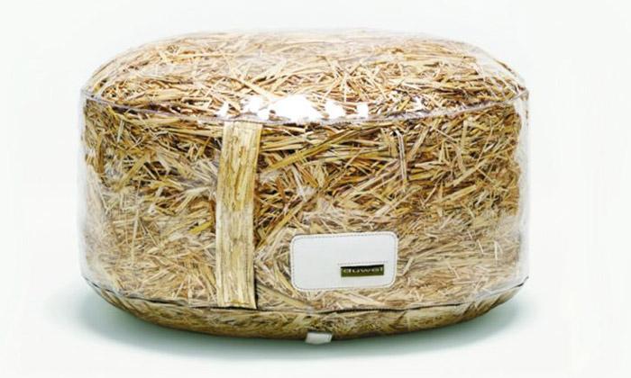 Duwel navrhují sedací nábytek ze sušené trávy