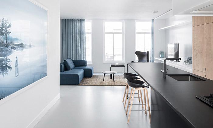 Loftový byt ve amsterdamské čtvrti De Pijp od studia i29