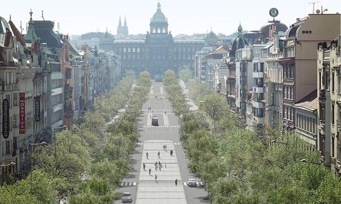 Václavské náměstí sepromění podle Jakuba Ciglera