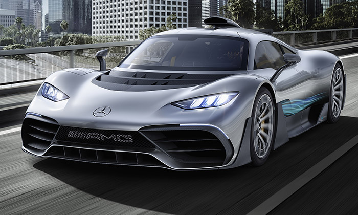 Mercedes-AMG Project ONE dostal výkon z formule