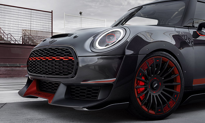 Mini a koncept sportovního vozu John Cooper Works GP Concept