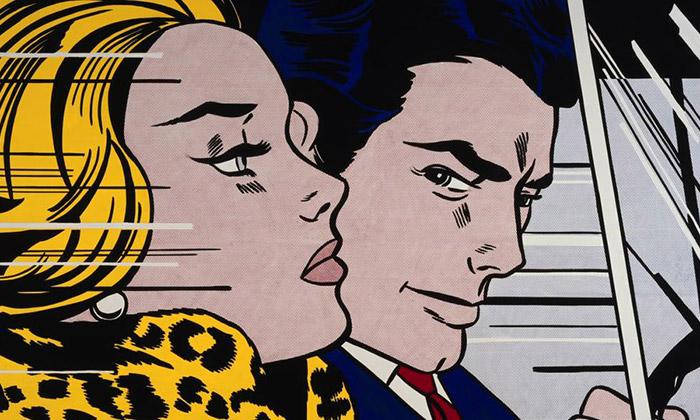 Anglie vystavuje pop-artová díla Roy Lichtensteina