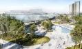 Vítězný návrh navýstavní halu Kongresového centra vPraze odOCA