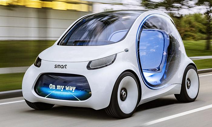 Smart navrhl elektrický EQ Fortwo určený ke sdílení