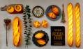 Yukiko Morita ajejí kolekce svítících chlebů abaget Pampshade