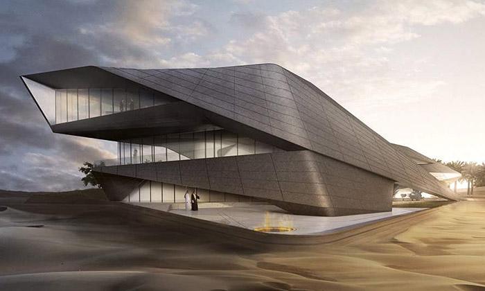 Praha vystavuje nepostavené stavby odZahy Hadid